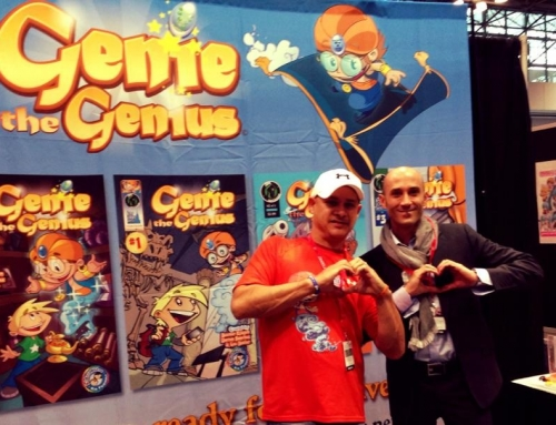 Genie the Genius at NYCC 2013